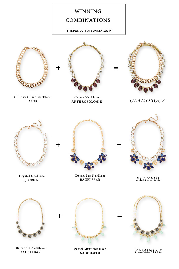 Necklace Combinations